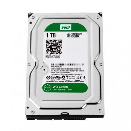 HD WESTERN DIGITAL 1TB 64MB 6Gb / s. Green. SATA