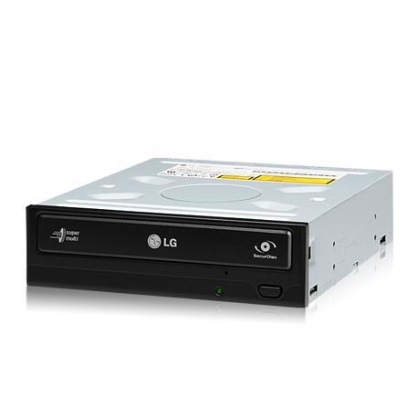 Drive interno gravador e leitor de DVD e CD LG GH22 de alta velocidade