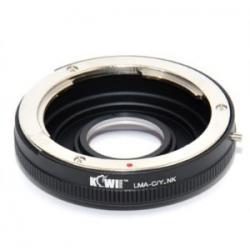 Adaptador Objectivas Minolta MD/SR a Corpo Nikon F c/Lente