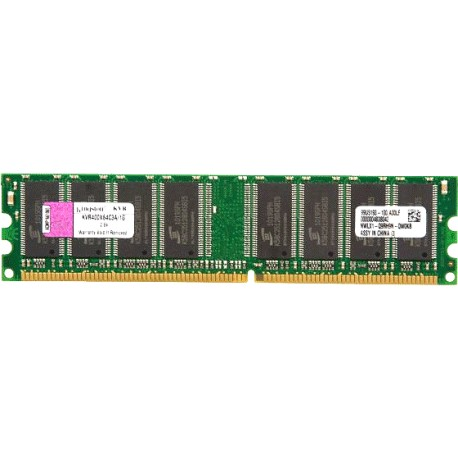 Memória Kingston ValueRAM 1 GB 400MHz PC3200 DDR DIMM Desktop