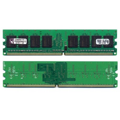 Memória Kingston 1024MB 2 x 512MB Non-ECC CL4 DIMM 240-Pin DDR II ValueRAM
