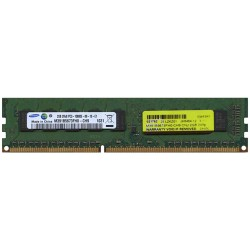 Memória SAMSUNG MEM DIMM 2GB PC-10600E DUAL RANKED DDR3, 1333MHZ UNBUFFERED ECC