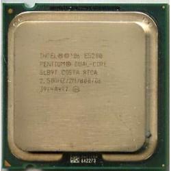 Processador Intel - Pentium E5200 Dual Core 2.5GHz 2MB L2 Cache