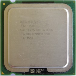 Processador Intel - Pentium 4 660 Single Core 3.6GHz 2 MB L2 Cache