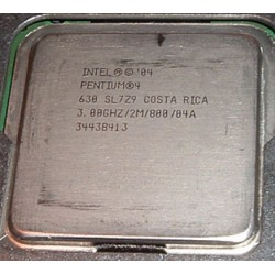 Processador Intel - Pentium 4 630 Single Core 3GHz 2 MB L2 Cache