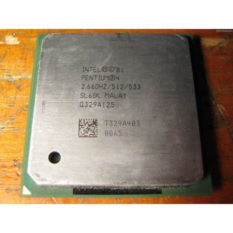 Processador Intel - Pentium 4 Single Core 2.66GHz 512 KB L2 Cache